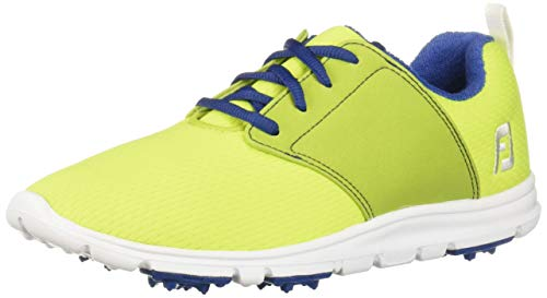 FootJoy Women's Enjoy-Previous Season Style Golf Shoes Green 9.5 M, Lime, US