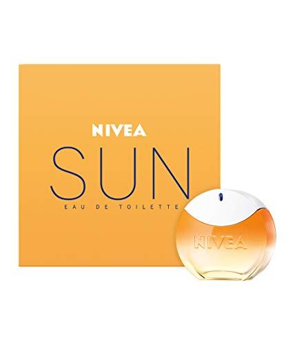 NIVEA SUN Eau de Toilette (30 ml), NIVEA SUN EDT mit dem Original NIVEA SUN Sonnencreme Duft, sommerlicher Duft im ikonischen Parfum-Flakon