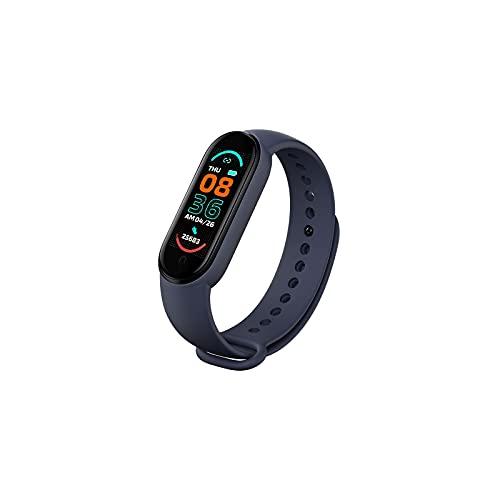 Reloj inteligente M6 recargable, monitor de sueño, rastreador de fitness, resistente al agua, reloj deportivo para hombre y mujer