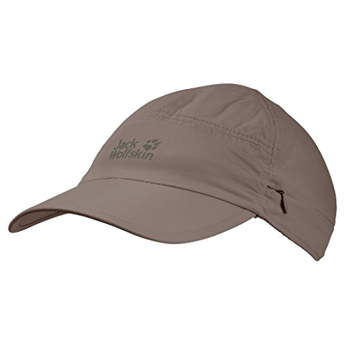 Jack Wolfskin Unisex Supplex Canyon Casquettes Kappe, (Siltstone), (Herstellergröße: Medium)