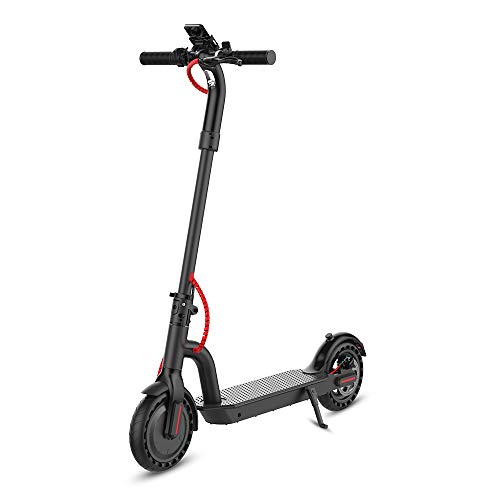 """HYPER GOGO Commuting Electric Scooter - 8.5"""" All Terrain Tires - Up to 17.4MPH,Portable and Folding Electric Kick Scooter,Black"""
