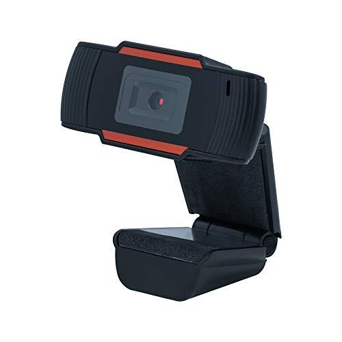 Mcbazel Webcam HD 1080P Cámara Web de Pantalla Ancha de Enfoque automático con micrófono Incorporado para PC con Windows 7 o versión Superior