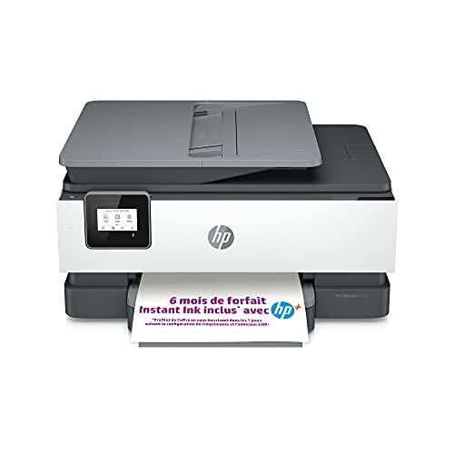 HP OfficeJet Pro 8012e Imprimante tout en un - Jet d'encre couleur – 6 mois d'Instant Ink inclus avec HP+, vos cartouches HP livrées chez vous sans avoir à y penser