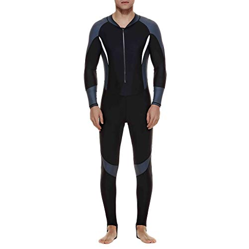 ODRD Unisex Neoprenanzug Stretch Swimsuit Jumpsuit Diving Steamer Swimwear Schnorchel Schnorchel-Sets Tauch-Sets Tauchanzüge Surfboards Wellenreiten Surf Shirt Schwimmen Back Zip Wetsuit UV-Schutz