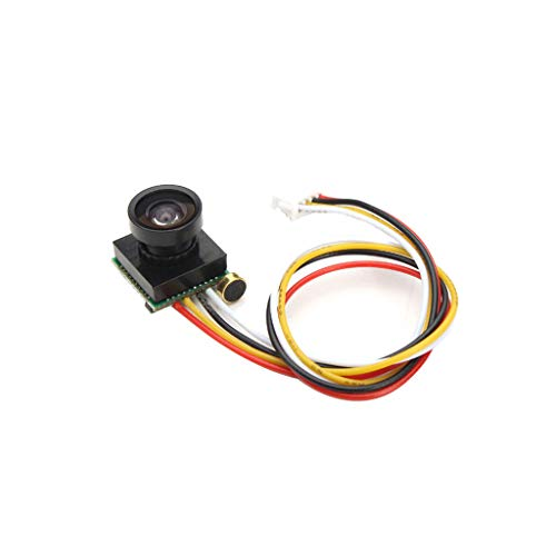JIACUO 600TVL 1/4 CMOS 1.8mm FPV170 Grados Cámara de Lente Gran Angular PAL NTSC 3.5-5V FPV Mini cámara para cámara RC Drone FPV Accesorios