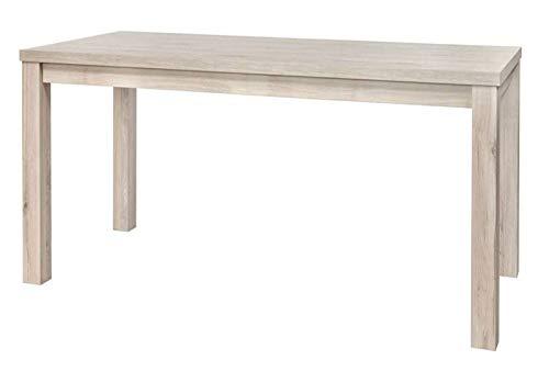 Traditional Living Room Dining Table Light Grey Oak
