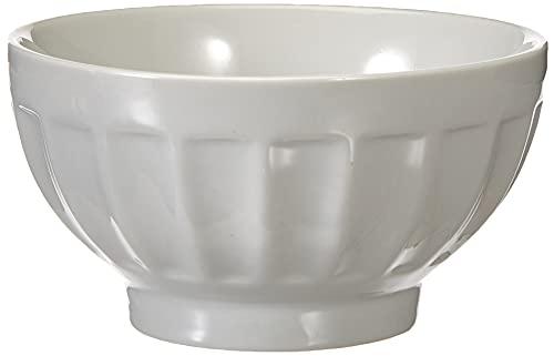 Tognana Bol de Petit-déjeuner en Porcelaine, Blanc cassé 13 cm 310 CC