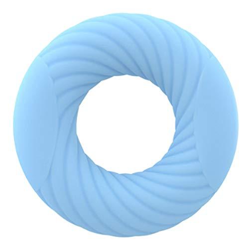 CLFYOU Handgriff Stärkungs Ringe Silikon Handgriffe Stärkungs Finger Stretcher Exerciser Ring Unterarm- Grip Workout Muskeltraining Werkzeug