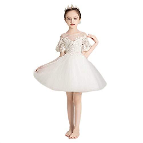 RXL Conciso Vestido de Novia Modo de White se Visten de Gasa...
