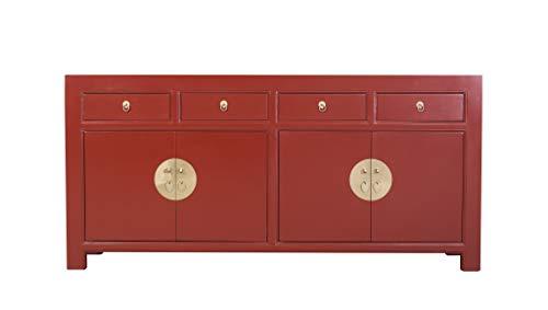 Fine Asianliving Chinesische Kommode chinesisches Sideboard chinesischer Schränke China Möbel Schrank Orientalischer Asiatischer 180x85x40
