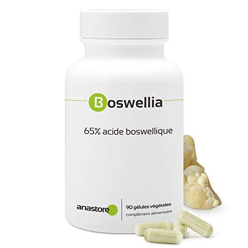BOSWELLIA SERRATA * 370 mg / 90 cápsulas * Titulado al 65% en ácido boswélico