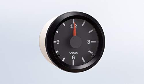 VDO 370-155 Clock - Vision Black