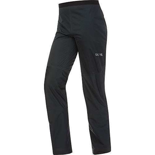 GORE WEAR R3 Pantalón impermeable largo de hombre GORE-TEX, M, negro