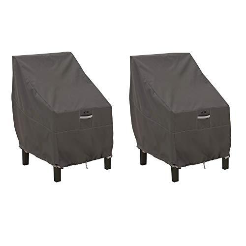 Classic Accessories Ravenna Lot de 2 Housses de chaises de Patio résistantes à l'eau 25,5\