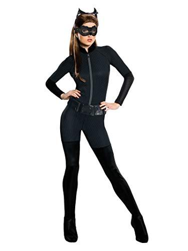Rubie's Offizielles Damen-Kostüm Dark Knight Catwoman, Erwachsenen-Kostüm–Größe: M
