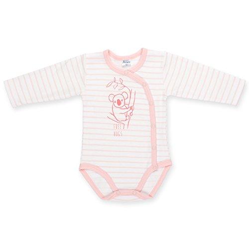 Pinokio - Body - para bebé niña Blanco, Rosa 68