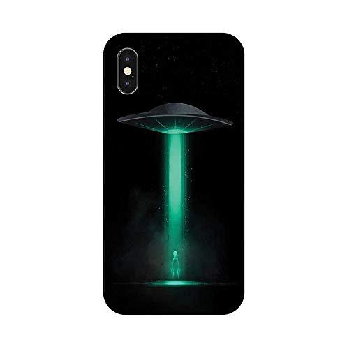 EREMITI JEWELS Cover Personalizzata UFO Navicella Alieno Smartphone Compatibile iPhone (12 PRO Max)