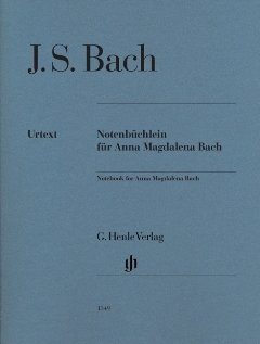 NOTENBUECHLEIN FUER ANNA MAGDALENA BACH - arrangiert für Klavier [Noten / Sheetmusic] Komponist: BACH JOHANN SEBASTIAN