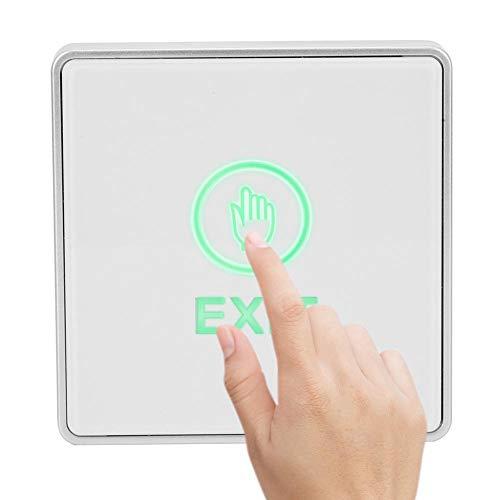 Raak de deuruitgangsknop aan en raak de ontgrendelingsschakelaar van het toegangscontrolesysteem aan voor huisbeveiliging. Ontgrendel de knop om de deur voor de kluis te verlaten