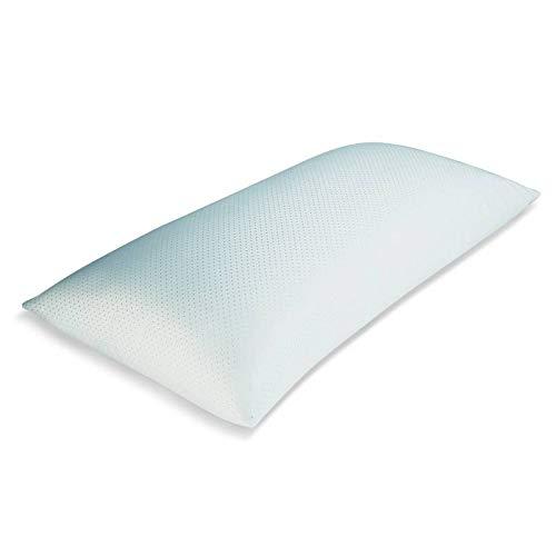 Bonitex Almohada Nova 90cm de Fibra Virgen 100%: Suave Tacto Fil Terciopelo, Transpirable y Adaptable
