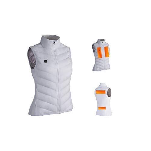 Motodak Capit Warme vest wit maat XS dames