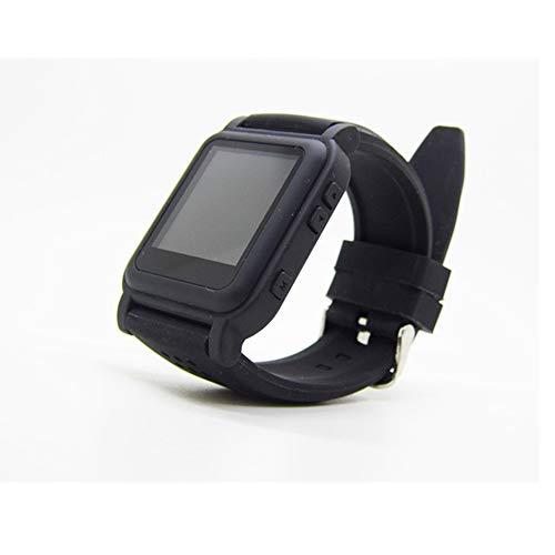 YUHUANG Reloj MP4, para TXT e-Book Reloj de Emergencia e-Book MP4 Estudiante música cronómetro Escuchando canción Video Imagen U Disco Reloj pequeño Regalo (8GB),A