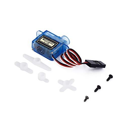 WOSOSYEYO® Micro 3,7 g Servo zur Steuerung von Fluggeräten Flugrichtung Hubschrauber Volt Mini Lenkgetriebe Micro Servo