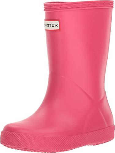 Hunter First Classic, Botas de Agua Unisex Niños, Rosa (Bright Pink Rbp), 25 EU