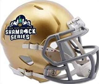 Notre Dame Fighting Irish Special New York City 2018 Shamrock Series NCAA Riddell Speed Mini Football Helmet