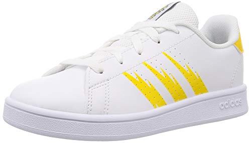 adidas Advantage K, Zapatillas de Tenis, FTWBLA/EQTAMA/FTWBLA, 38 2/3 EU ✅