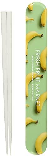 L'ABSURDE 日本製 箸 ケース セット 18cm フレッシュ フルーツ マーケット バナナ