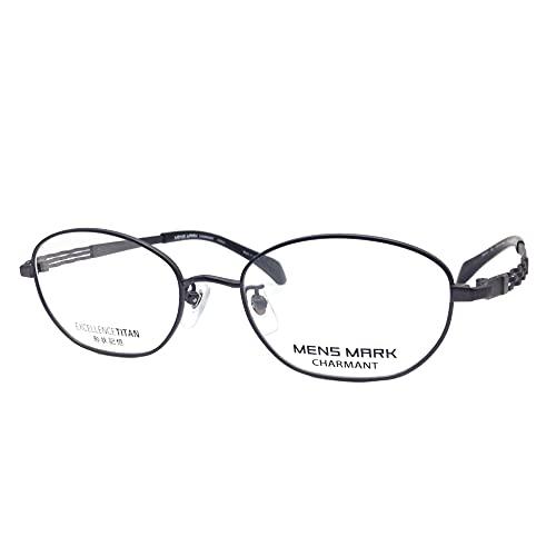 MENS MARK(メンズマーク) メガネ XM5501 52mm 日本製 EXCELLENCE TITAN 形状記憶 (BK(ブラック))