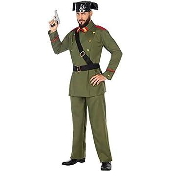 Atosa-54624 Disfraz Guardia Civil, Color Verde, XS-S (54624 ...