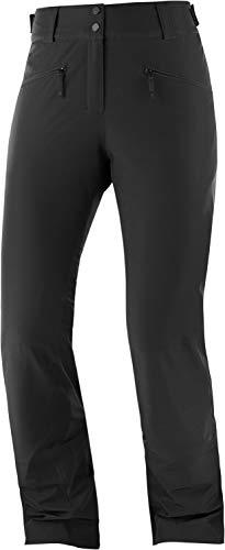 Salomon Damen EDGE Ski Pant, Schwarz, XL/R