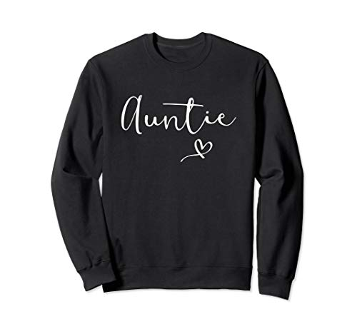 Auntie Shirt For Women Aunt Gift For Mother's Day Aunty Sweatshirt