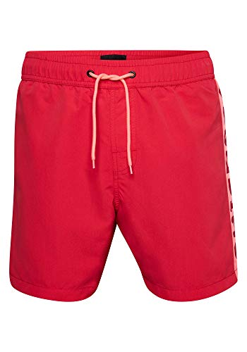 Chiemsee Herren Men Badeshorts, Chinese Red, L