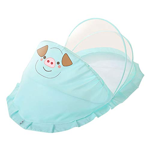 Baby Bed Portable Folding Baby Crib Mosquito Net Portable Baby Cots Newborn Foldable Crib