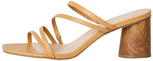 find. #_ Shana-10j52 Zapatos con Tacon y Correa de Tobillo, Marrón (Camel), 40