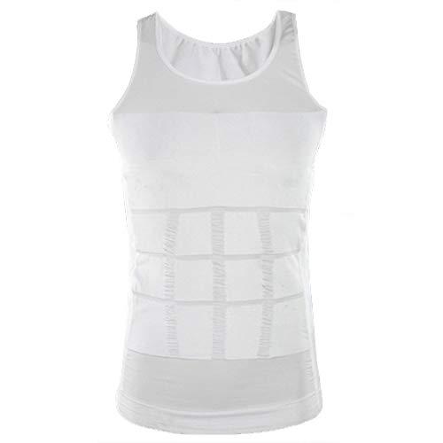 Home Health Spain Camiseta Faja Abdominal Entallada Reductora Moldeadora Quemagrasas Adelgazante para Hombre (XXL)