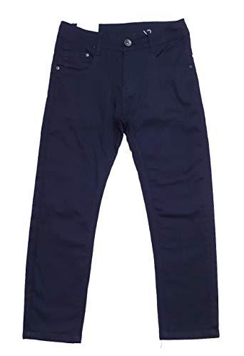 Fashion Boy warme Jungen Stretch Thermohose in dunkel Blau, Gr. 104/110, JT5872.4