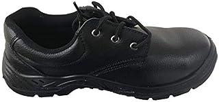 Apex Safety Shoes Low Cut for Men, full black color