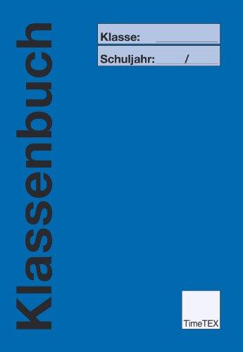 TimeTEX Klassenbuch A4 Plus - Blau - 10736