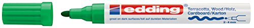 edding Mattlack-Marker edding 4000 creative, 2-4 mm, grün