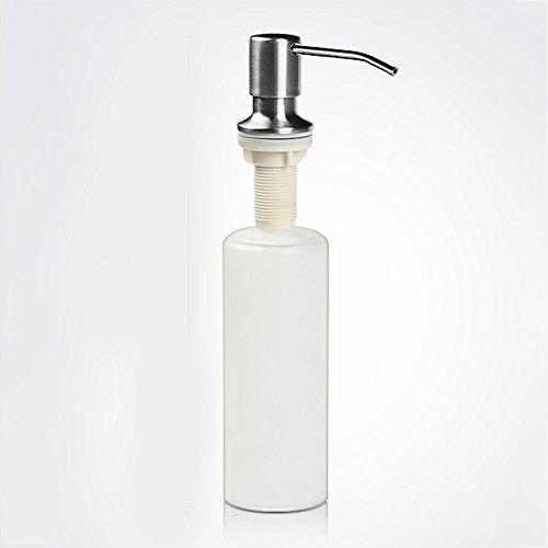 TY&WJ Principal Puits Distributeur de savon Cuisine Pousser Boîte de shampooing Bouteilles de lotion Détergent Bain Boîte à savon Ménage Hôtels Salle de bains -220 ml-A