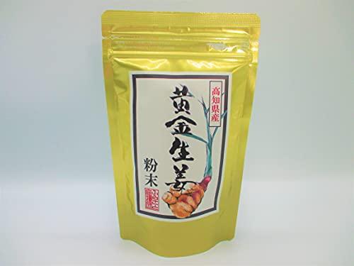高知県産 生姜 パウダー 100g 黄金しょうが 乾燥 粉末