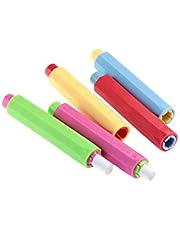 Porta Gessetti Supporto Di Plastica Chalk Caso Della Copertura Anti-sporco Per Dell'ufficio Scolastico Insegnanti 5pcs
