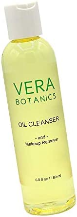 Natural Cleansing Oil And Makeup Remover by Vera Botanics Only 4 Ingredients Gentle Daily Oil product image