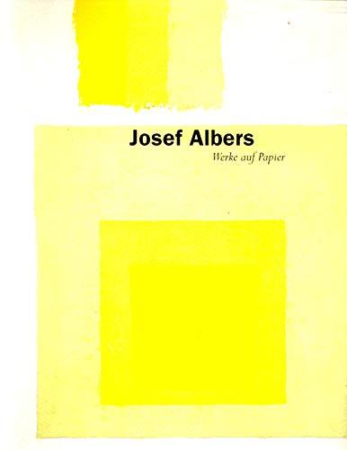 Josef Albers: Werke auf Papier