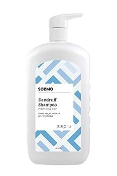 Amazon Brand - Solimo Dandruff Shampoo Everyday Use 33.8 Fluid Ounces