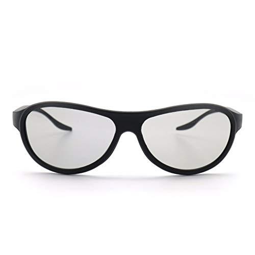 YABAISHI 4pcs / Lote reemplazo AG-F310 Gafas 3D Vasos pasivos polarizados para LG TCL Reald 3D Cinema TV Computadora (Color : 1)